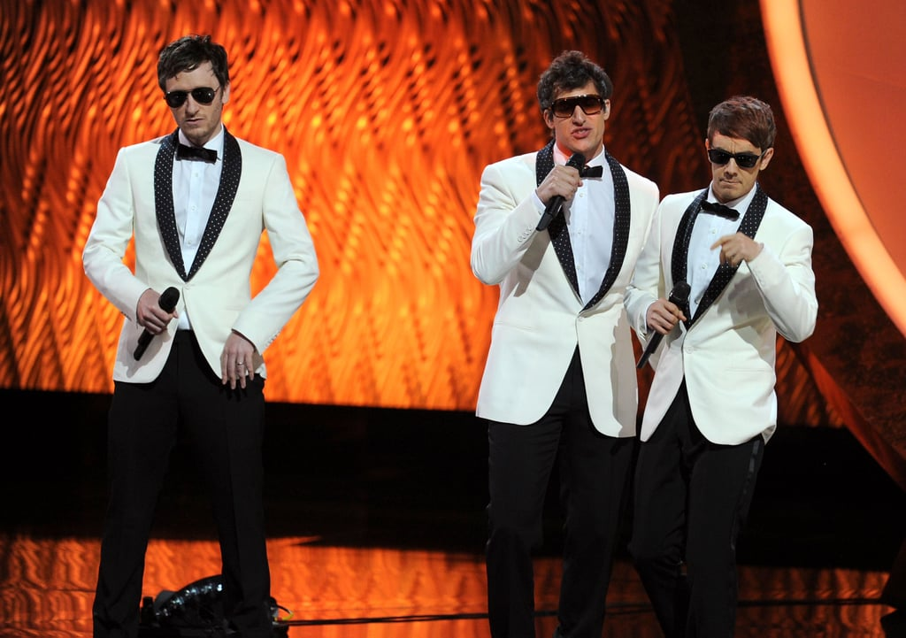 Andy Samberg performed at the 2011 Emmy Awards.