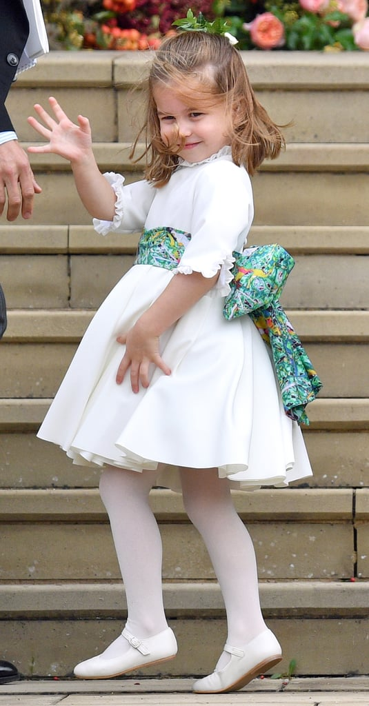 Oh, Nothing to See Here Except Perfect Princess Charlotte Doing a Perfect Princess Wave
