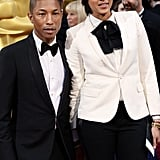 Pharrell's Oscars Night Includes Shorts, Shimmying With Meryl Streep, and, of Course, That Hat