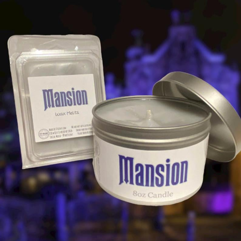 Haunted Mansion Disney Candle