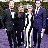 Aaron Paul, Lauren Parsekian, Sarah Hyland, and Dominic Sherwood