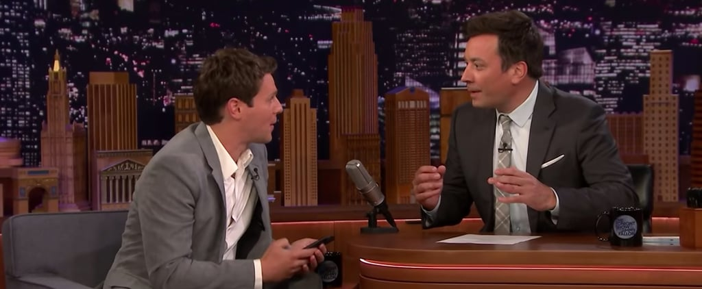 Jonathan Groff Singing Frozen Song to Jimmy Fallon's Kids