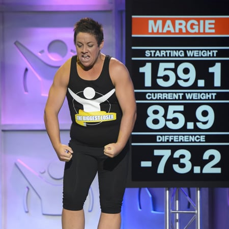 Margie Cummins Wins The Biggest Loser Singles 2012