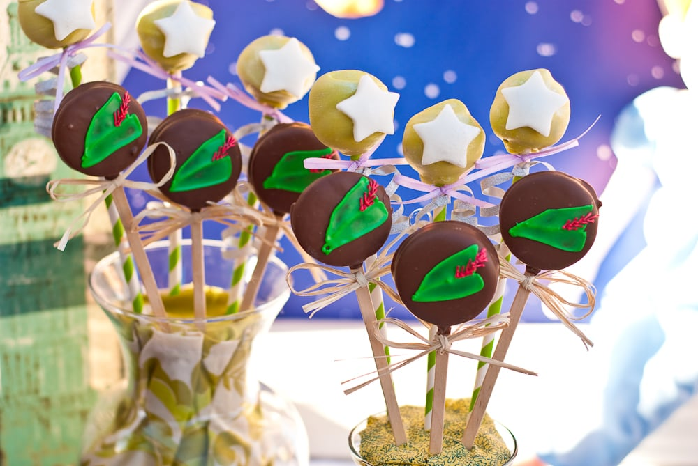 Peter Pan Cake Pops