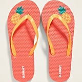 Old Navy Printed Flip-Flops