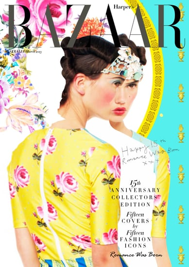 15 Fashion Icons Design the Harper's BAZAAR March 2013 Cover