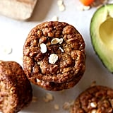 Carrot Avocado Banana Oat Muffins