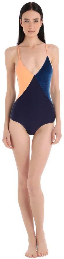 Albertine Santiago Lycra & Velvet Swimsuit