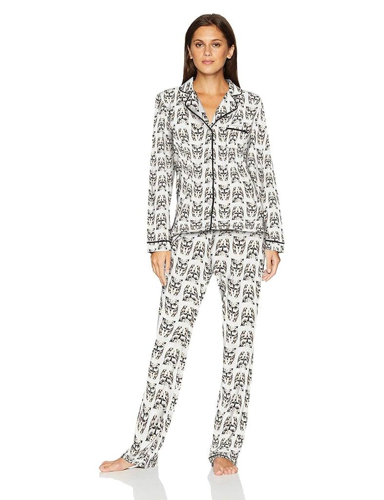 Mae Women's Sleepwear Notch Collar Pajama Set