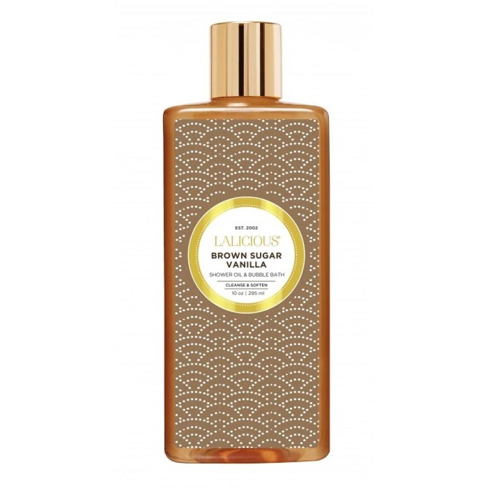 Lalicious Brown Sugar Vanilla Shower Oil and Bubble Bath