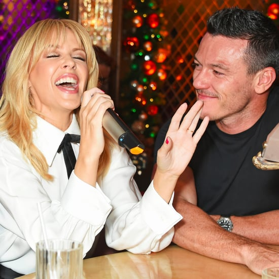 Kylie Minogue Christmas Gig at The Ivy 2016