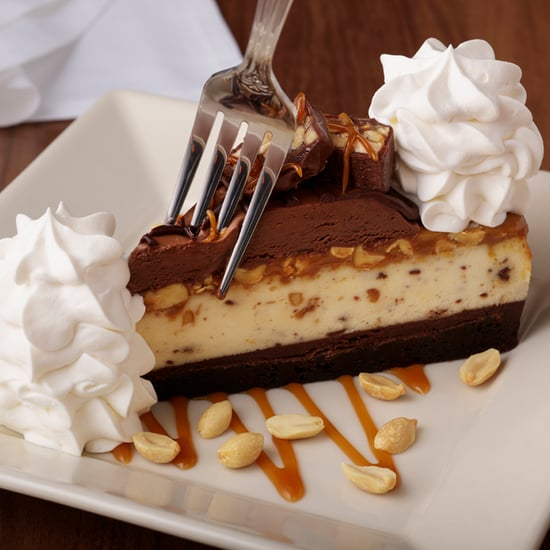 The Cheesecake Factory Drops New Caramelicious Snickers Cake