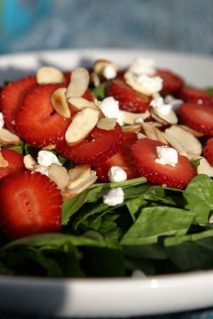 Fresh Spring Side: Spinach & Strawberry Salad