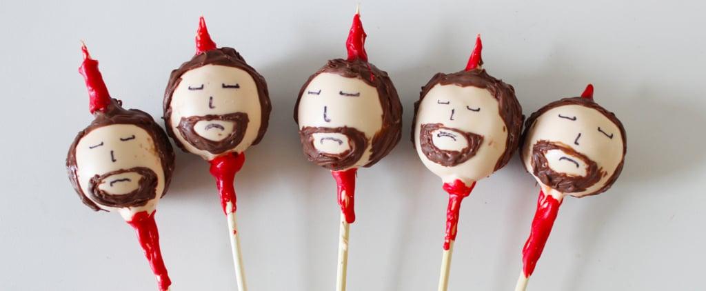 Game of Thrones Ned Stark Cake Pops Recipe