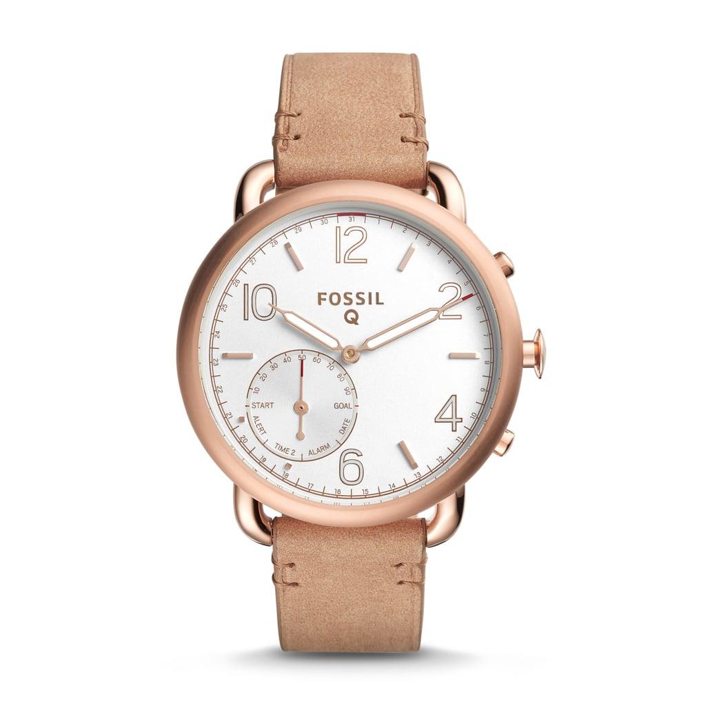 Fossil Q Hybrid Strap Smart Watch ($195)