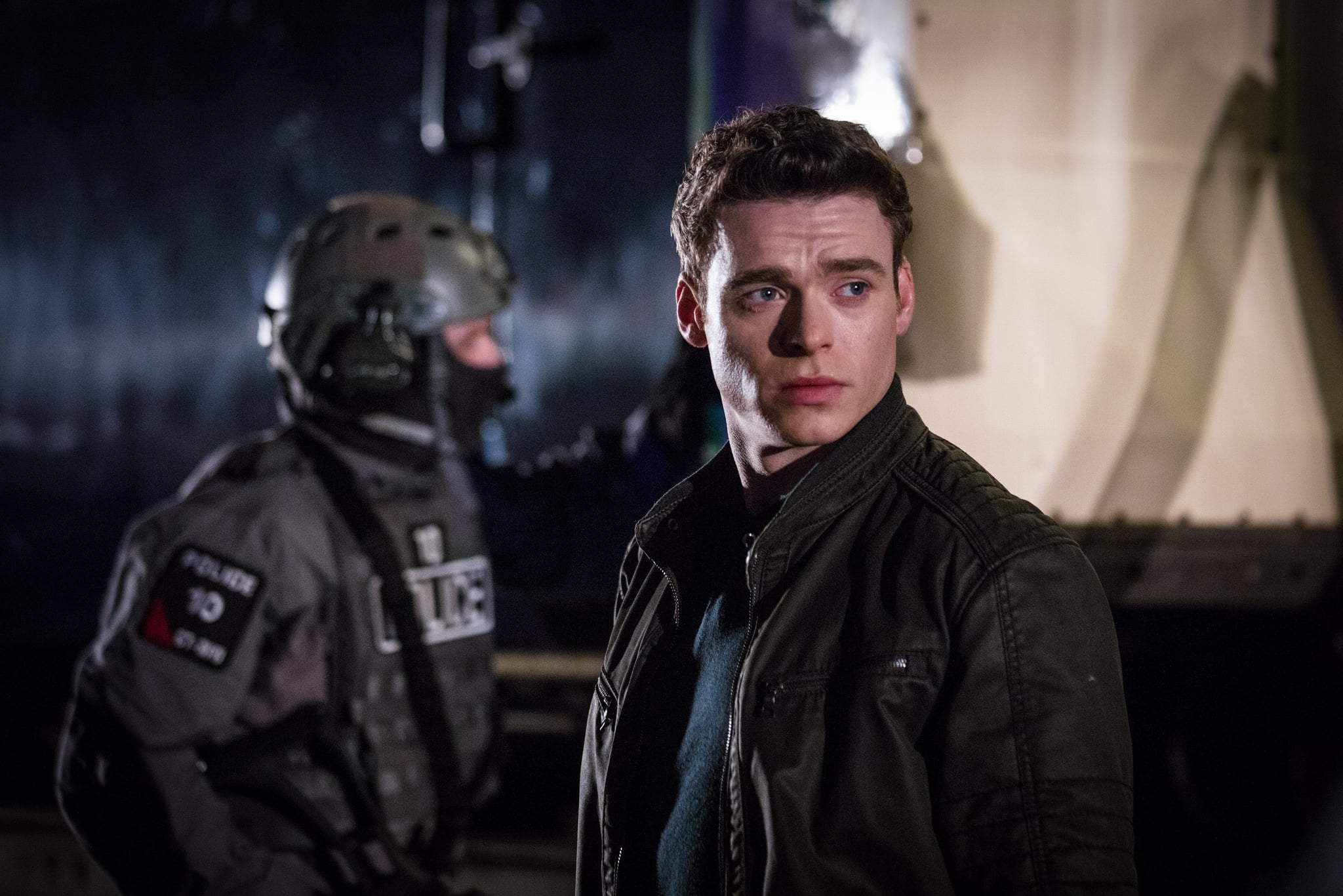 BODYGUARD, Richard Madden, 'Episode 1', (Season 1, ep. 101, aired in UK on Aug. 26, 2018/airs in US on Oct. 24, 2018). photo: Sophie Mutevelian / Netflix/BBC / Courtesy: Everett Collection