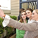 Joey King, Kaitlyn Dever, Kathryn Newton at Women to Watch