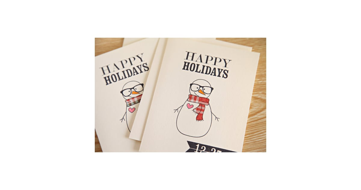 Hipster Christmas Cards | Geeky Holiday Cards From Etsy | POPSUGAR ...