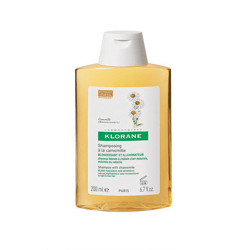 Klorane Shampoo With Camomile For Blonde Hair