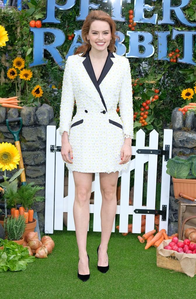 Daisy Ridley's Teresa Helbig Blazer Dress