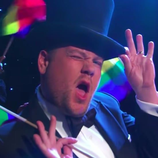 "James Corden's ""LGBT"" Song About Trump's Transgender Ban"