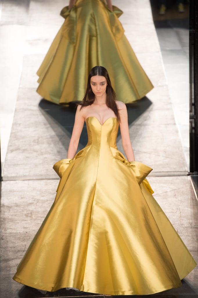 Disney Princess Dresses at Couture Week Autumn 2016