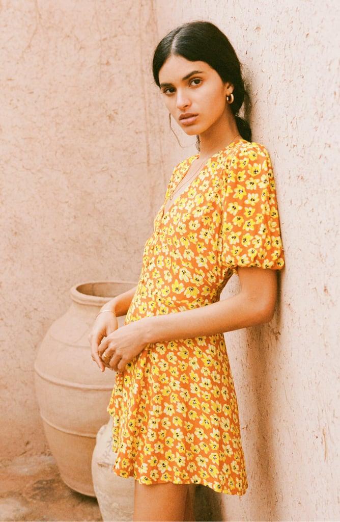 Faithfull the Brand Ilia Floral Minidress