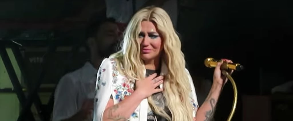 "Kesha Crying During ""Praying"" at a Concert Video July 2018"