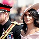 June: He and Meghan Made Their Trooping the Colour Debut