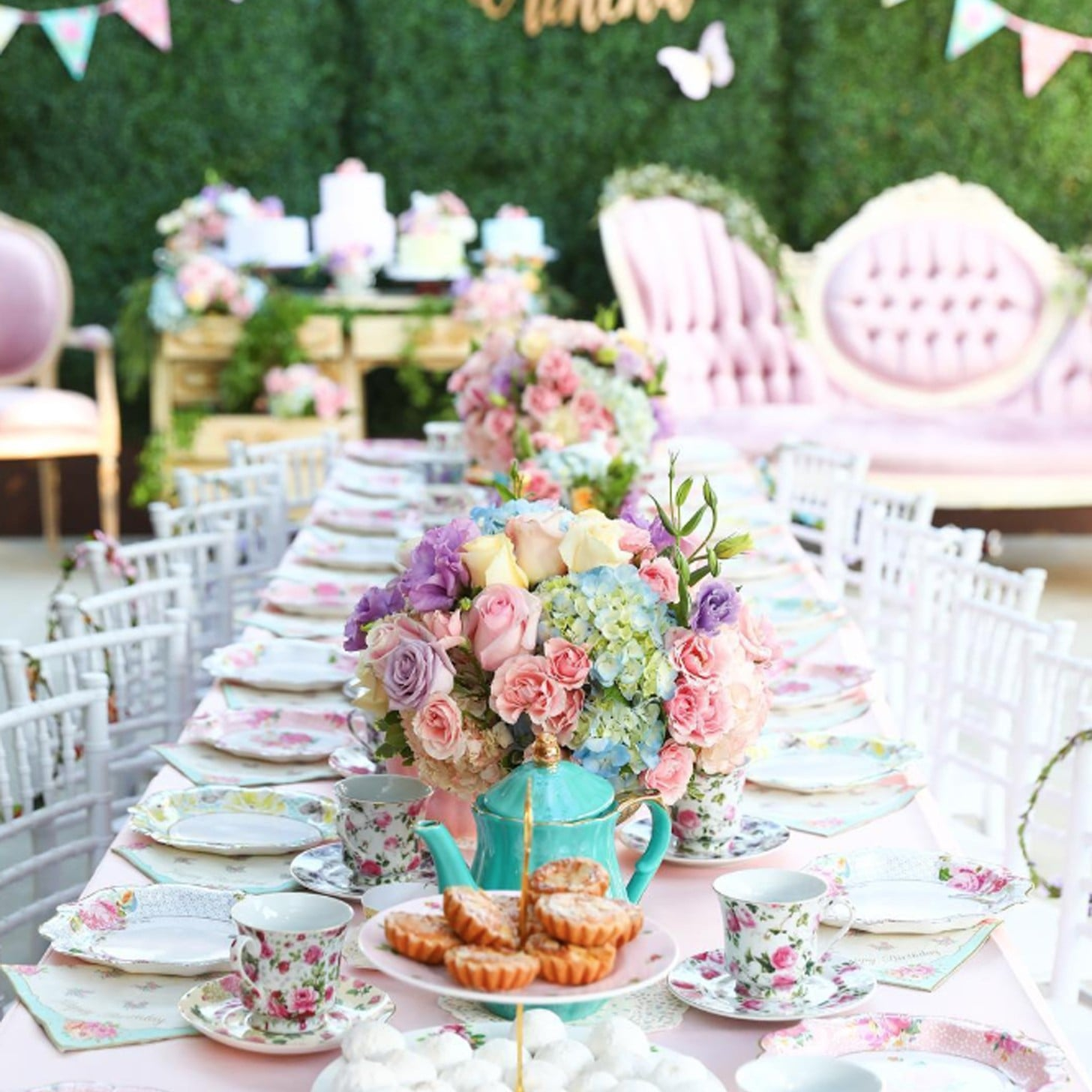Outdoor Summer Birthday Party Ideas Popsugar Family