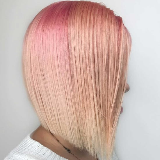 Buttered Rose Gold Hair-Colour Trend