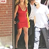 Britney Spears in Herve Leger.