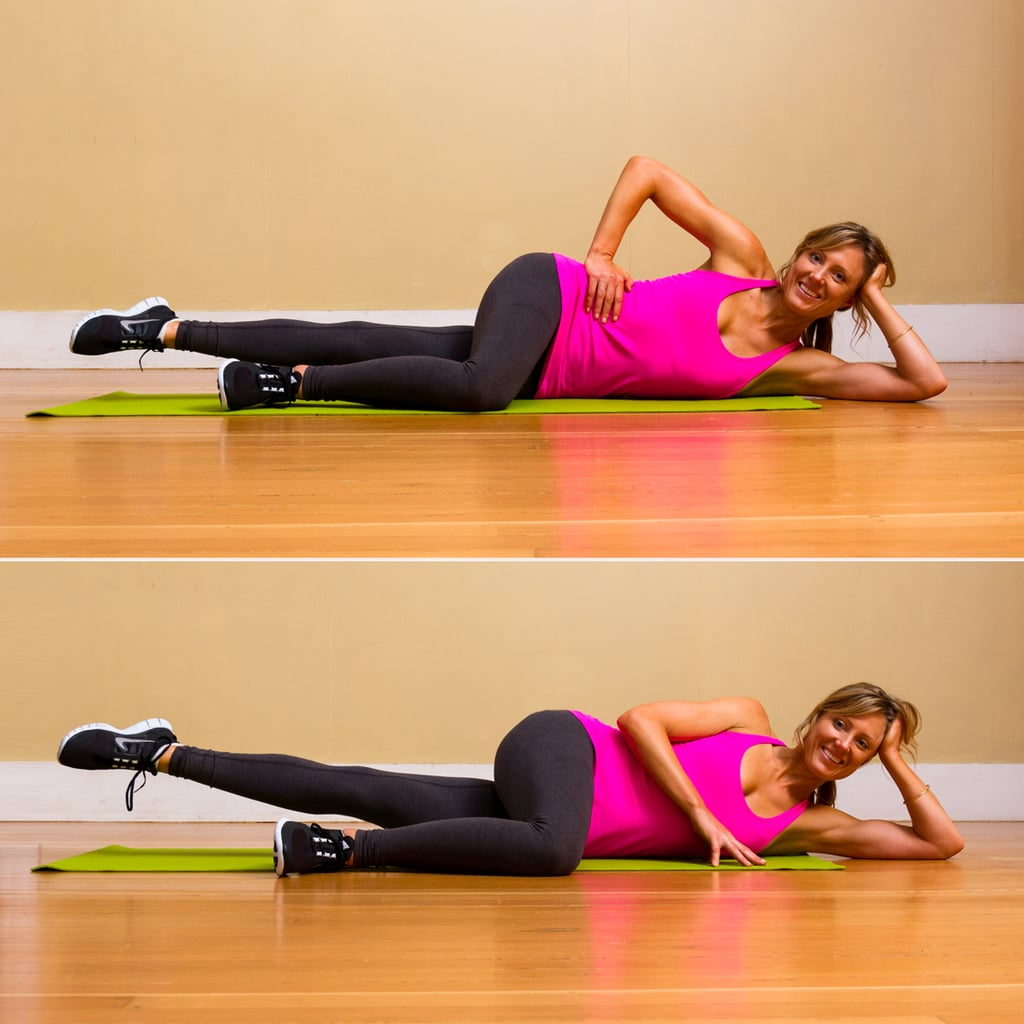 Pilates Side Lying Leg Lifts Workout To Do While