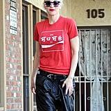 Gwen Stefani kept it casual in LA on Thursday.