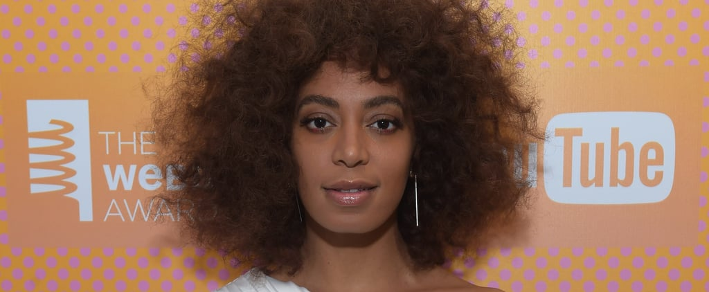 Solange Posted a Photo Showing Her Skincare Issues — and Her Reaction Is Hilarious