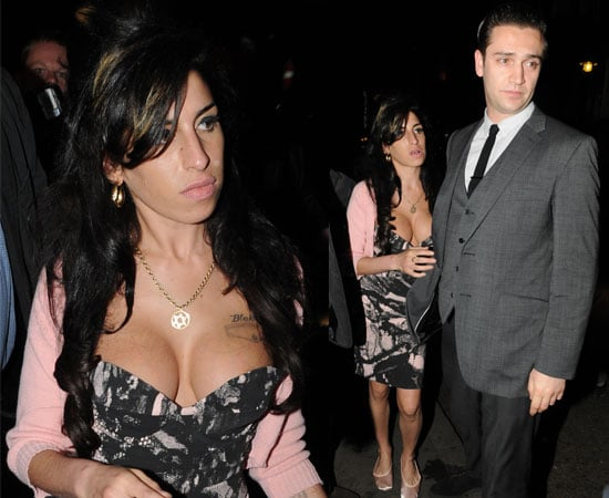 Pictures of Amy Winehouse and Boyfriend Reg Traviss