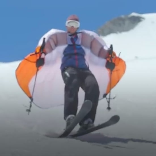 Ski Wings to Help You Soar Down Slopes (Video)