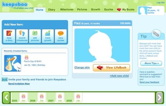 Website of the Day: Keepaboo