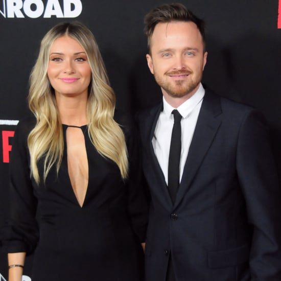 Aaron Paul and Wife on Red Carpet February 2016