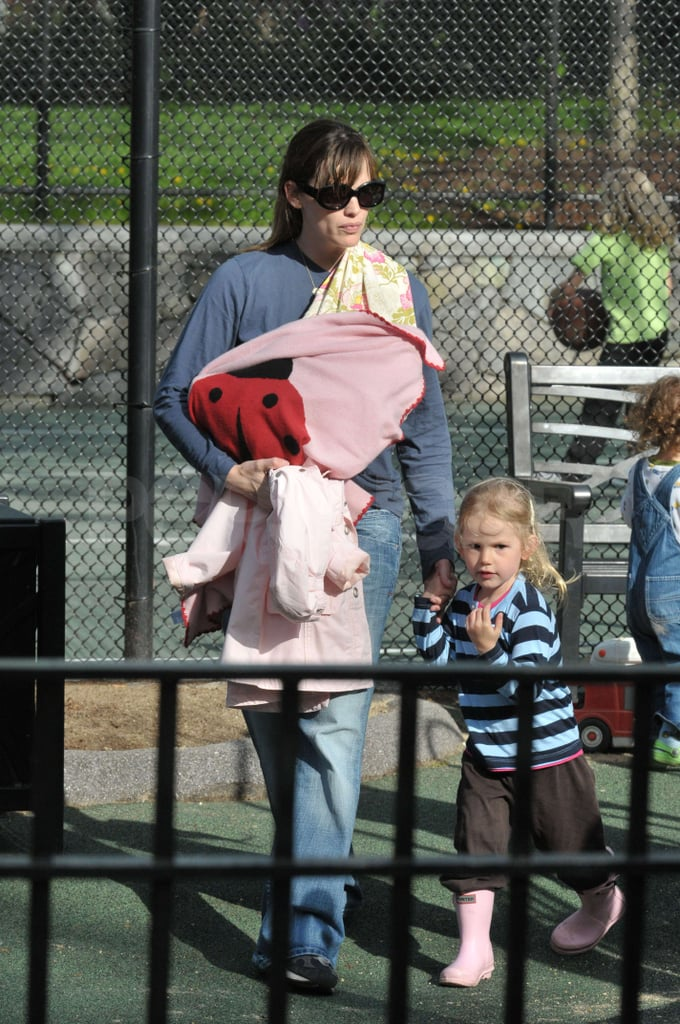 Jennifer Takes the Kids to the Park