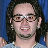 Chris was rocking cornrows.
