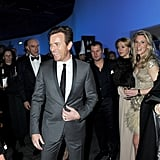 Ewan McGregor was the center of attention at the SIHH High Jewellery Fair in Geneva.