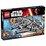 There is no try, there is only do in completing this Lego Star Wars Millennium Falcon Building Kit ($150).