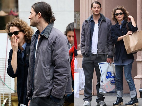 Photos of Keri Russell and Shane Deary Shopping in New York