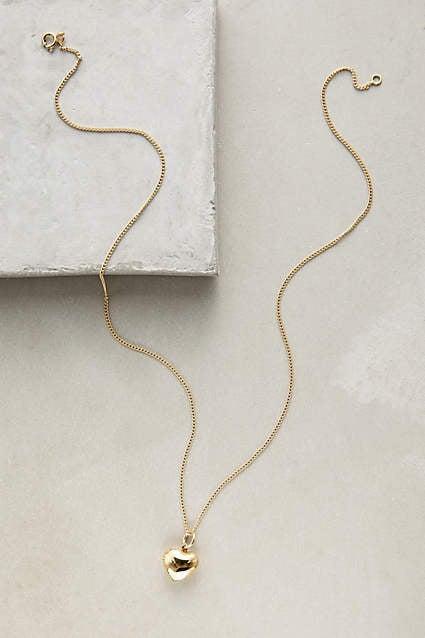 Les Nereides Open Hearted Locket Necklace ($228)