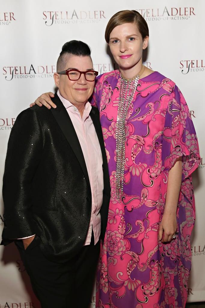 Lea DeLaria and Chelsea Fairless