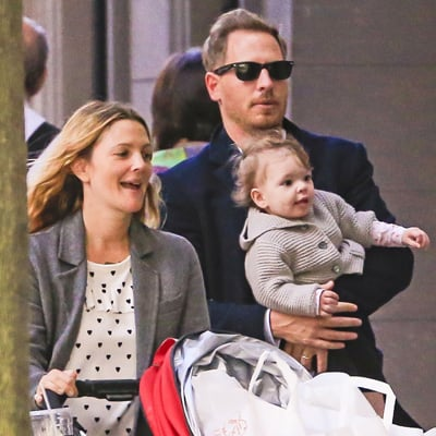 Drew Barrymore and Her Daughter Olive Kopelman Pictures