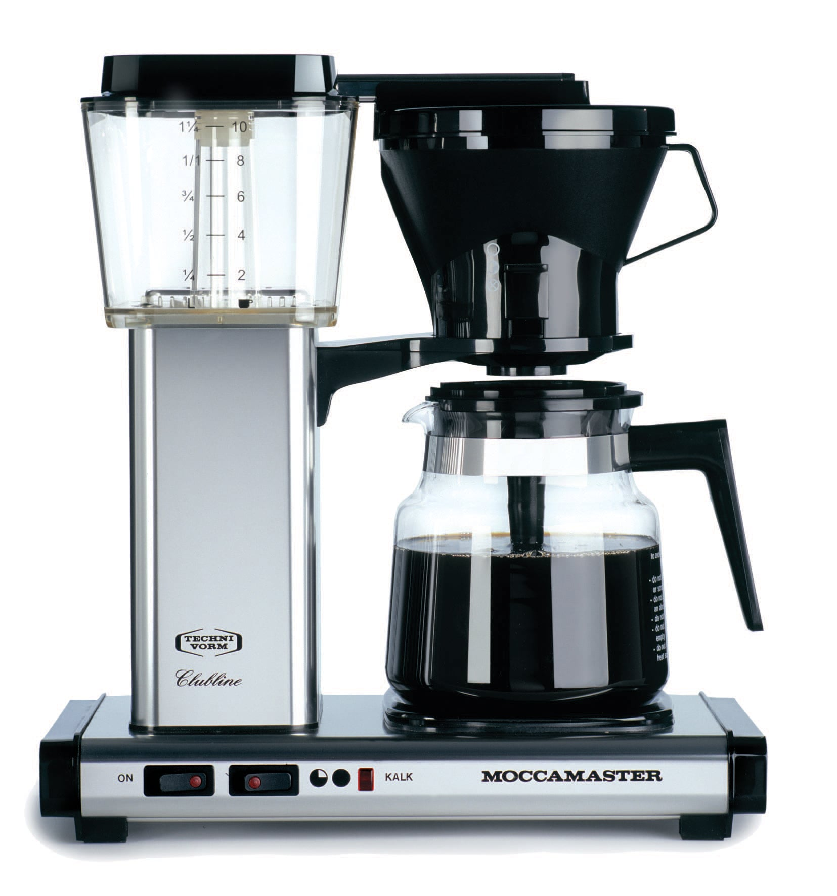 Technivorm Moccamaster Coffee Brewer With Glass Carafe