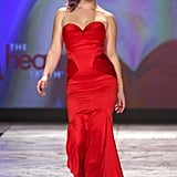 Kelly Osbourne strutted down the runway for The Heart Truth's Red Dress Collection fashion show in February for New York Fashion Week.