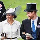 Meghan Markle and Prince Harry Laughing 2018